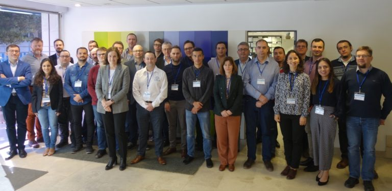 Group photo from the ebalanceplus kick-off meeting, 27.02.2020, Málaga, Spain.